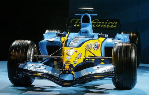 Renault R25 voor