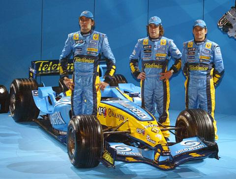 Renault coureurs 2005