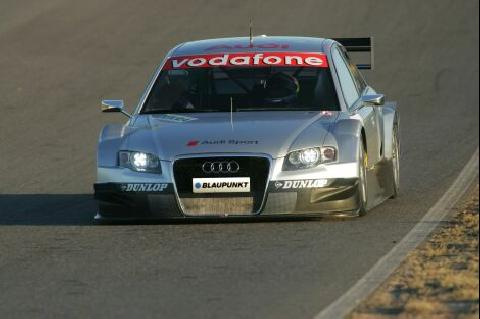 De nieuwe Audi A4 voor de DTM 2005