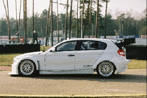 De nieuwe BMW 1 serie komt in de Belcar in actie