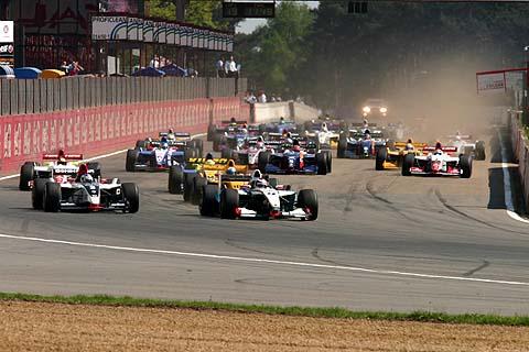 Start Fr3.5 race1