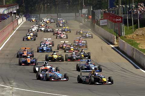 start formule Renault 2