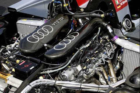 Audi Diesel V12 TDI motor
