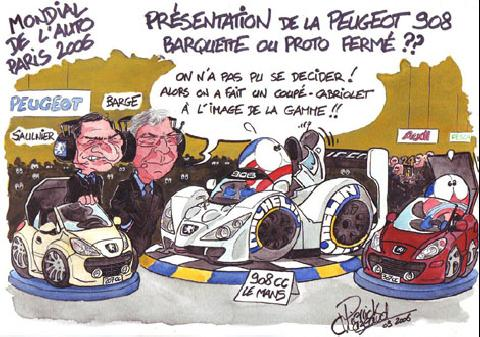 Cartoon Peugeot