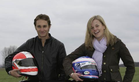 Matthias Lauda en Susie Stoddart