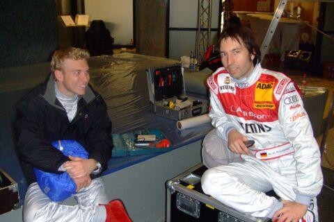 Heinz-Harald Frentzen, Olivier Tielemans