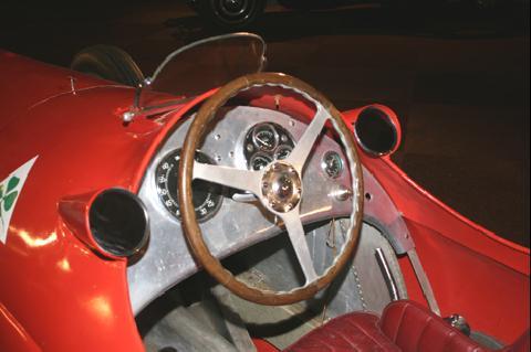 Alfa 12 C cockpit