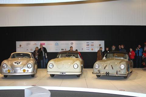 2014 Autoworld rotonde Porsches