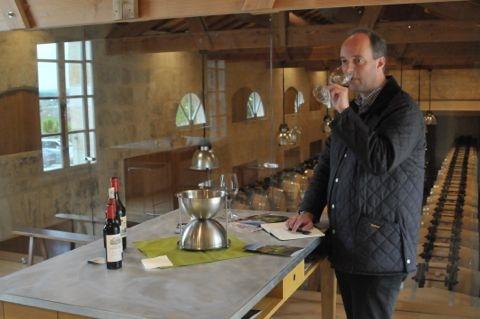 Groeten Bordeaux proeven