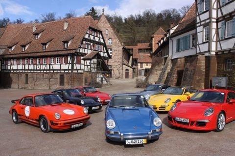 Groeten Porsche groep