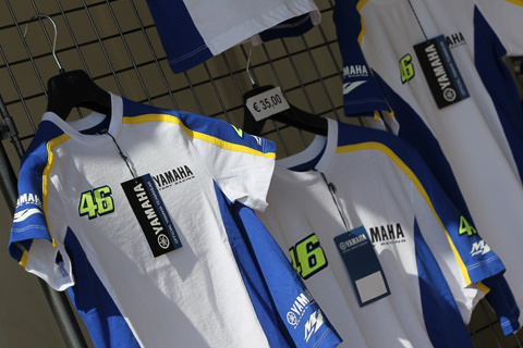 480 yamaha kleding 8234