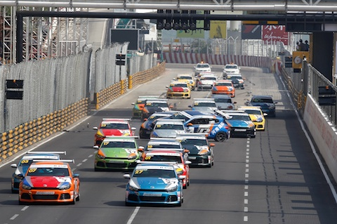 131116 Macau VW Start