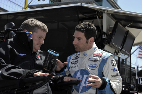 2013 Carb Day Schmidt Pagenaud 1