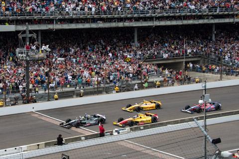 2013 Finish Indy 500