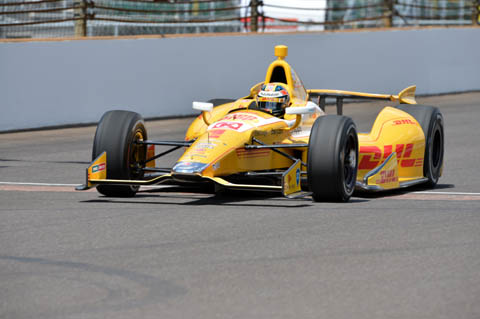 2013 Indy 500 Carlos Munoz 2