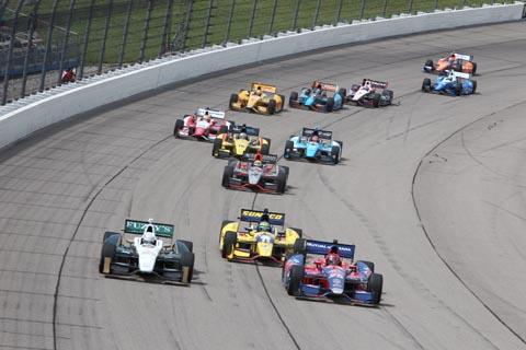 2013 Indycar Iowa Race