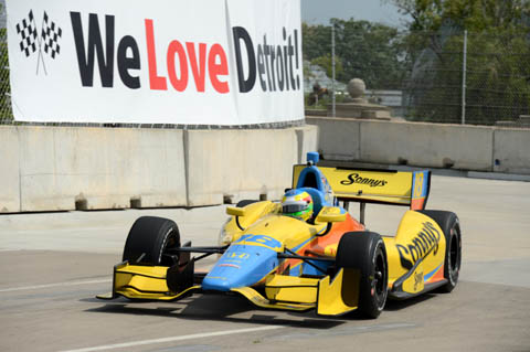 2013 Mike Conway Belle Isle Aktie
