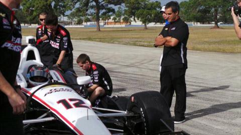 2013 Montoya Shakedown test