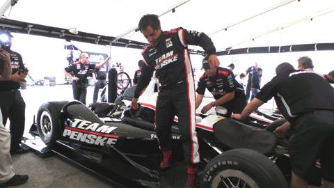 2013 Montoya shakedown test 2
