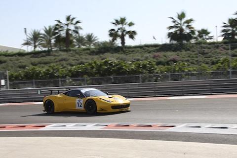 131212 Gulf12H Quali Ferrari 12