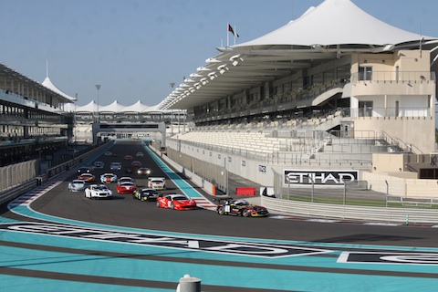 131213 Gulf12H Race1 Start