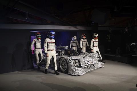131215 Porsche LMP1 lineup
