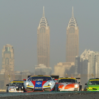 action with dubai towers