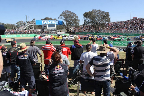 Groeten Bathurst Start 30