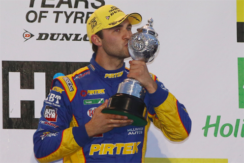 btcc brands jordan kampioen