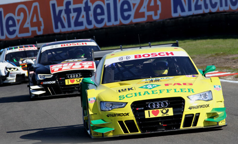 2013 Rockenfeller closing stages