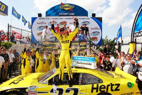 2013 Joey Logano Dover Winnaar