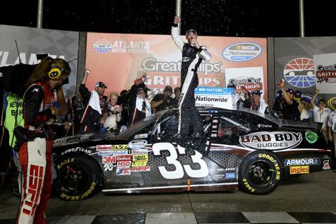 2013 Kevin Harvick Winner NW Atlanta 2