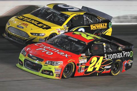2013 NASCAR Darlington Gordon 700e start