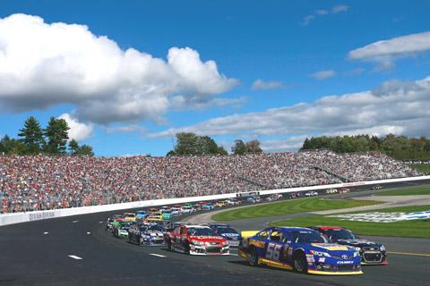 2013 NASCAR Loudon 2