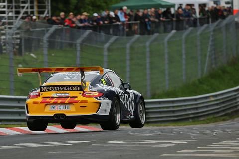 Nurburgring Pieter Schothorst actie achter