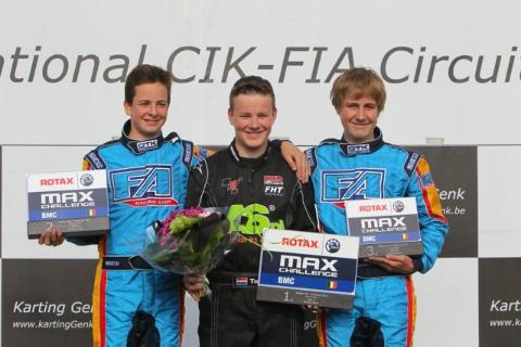 Genk 2 Junioren podium