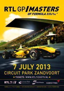 Persbericht - RTL GP Masters of Formula 3 2013-pre1-poster