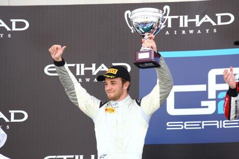 Clos GP2 Abu Dhabi Podium