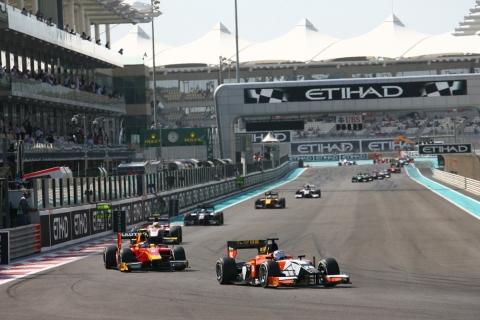 Clos GP2 Abu  Dhabi