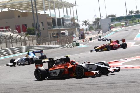 Daniel de Jong GP2 Abu Dhabi