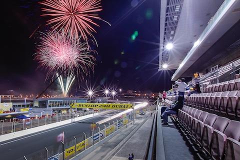 140111 Dubai Halfway fireworks