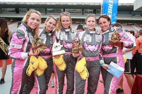 140111 Dubai Finish Divas podium