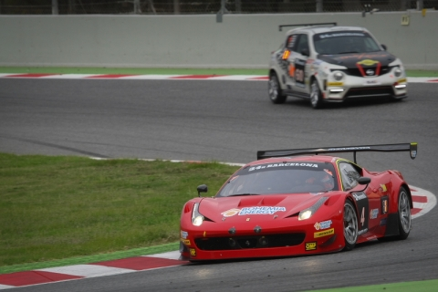 P1 24H BARCELONA 2014 qualifying 800pix
