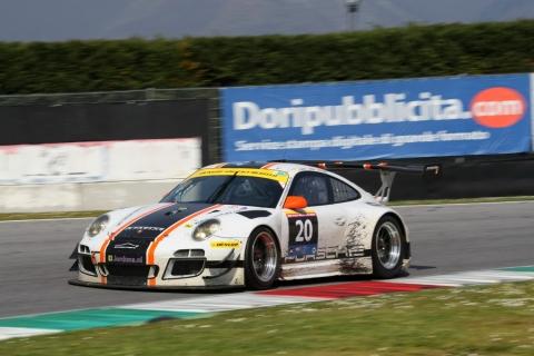 2nd Overall Winner of the Dunlop 12H ITALY 20 Stadler