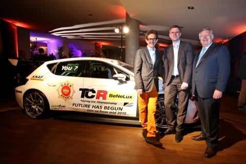 TCR BeNeLux - Marc Van Dalen - Xavier Schene - Jean-Pierre Mondron