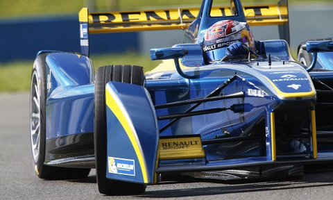 1. Sebastien Buemi has now topped the timesheets in three of the four official Formula E test days