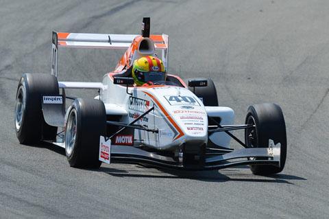 James Munro winnaar R1