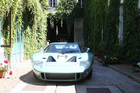 140613 Groeten Chartre GT40 backyard