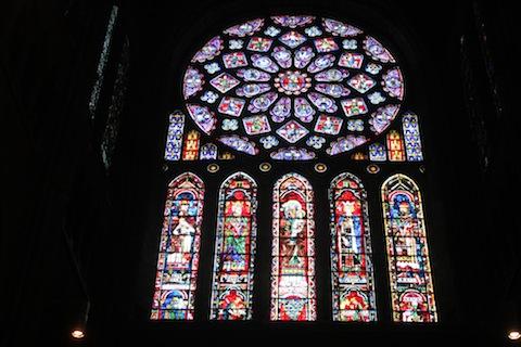 140619 Groeten LM Chartre vitrails