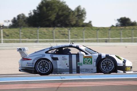 140328 FIA WEC Testdag1 Porsche GTEPro
